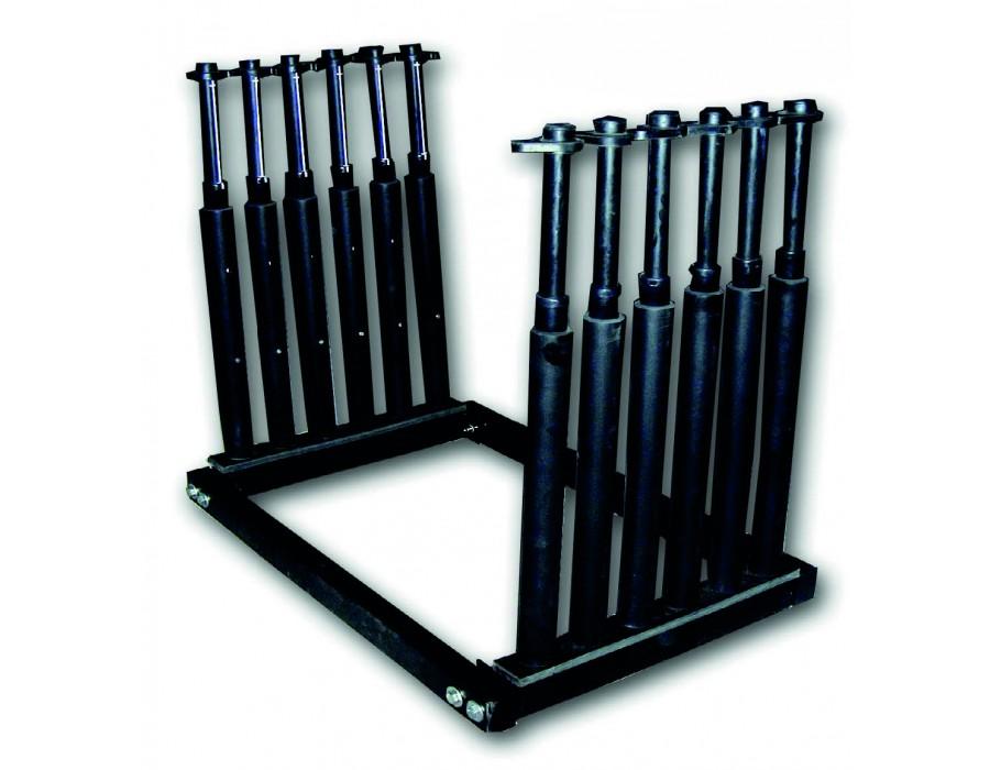 Rack à pare-brise - 5 compartiments