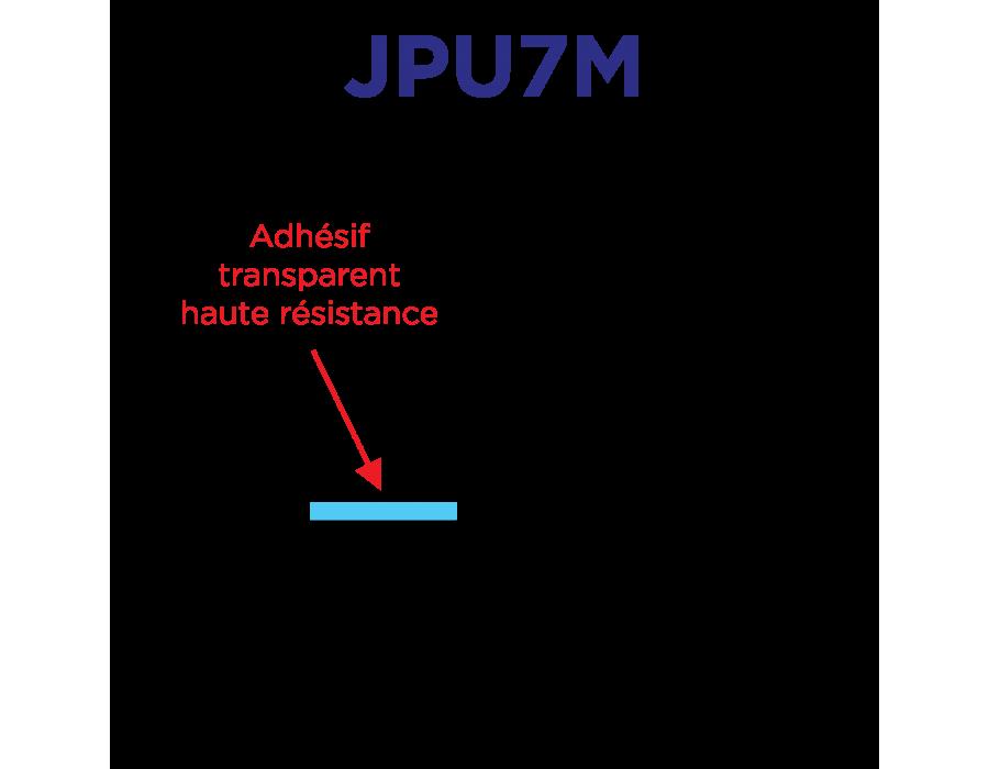 Joints souples universels adaptables pour pare-brise et lunette 7mm x 22.8m