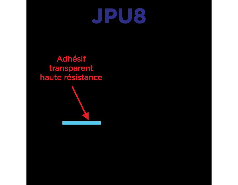 Joints souples universels adaptables pour pare-brise et lunette 8mm x 22.8m