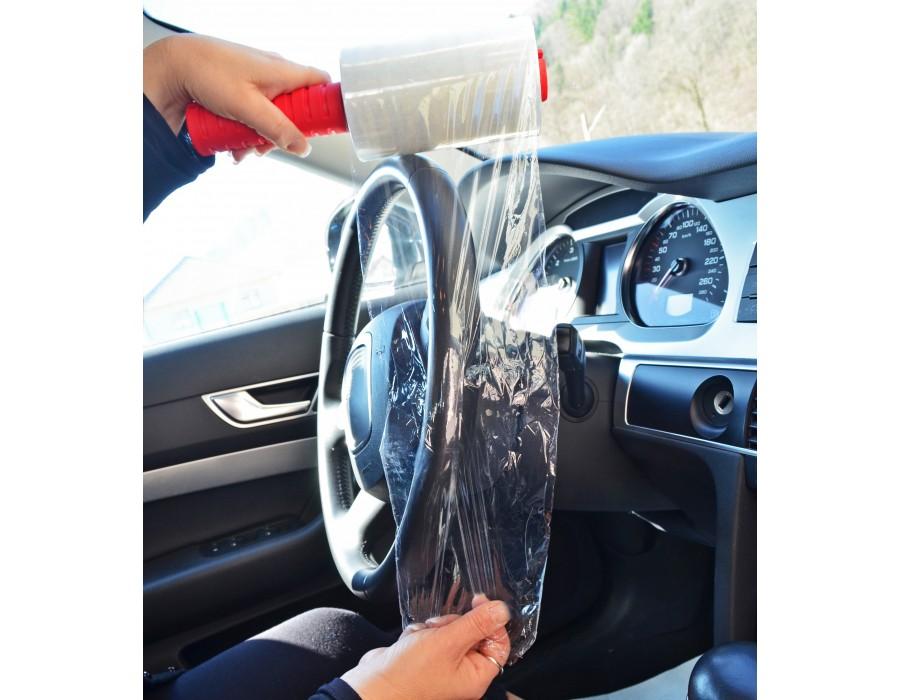 Rouleau de film transparent étirable