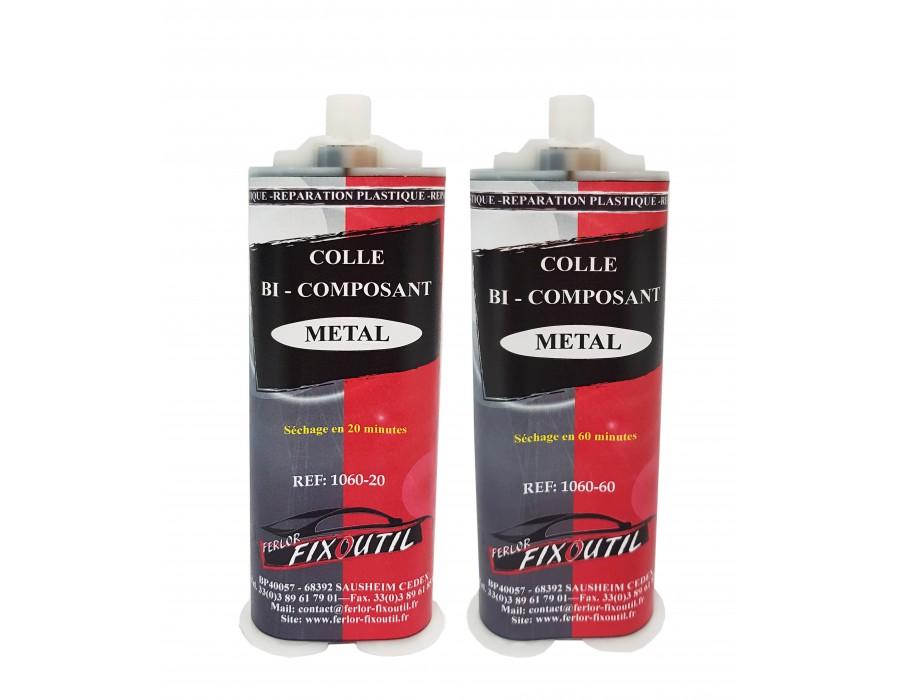 Colle métal bi-composant - Séchage 20 ou 60 minutes