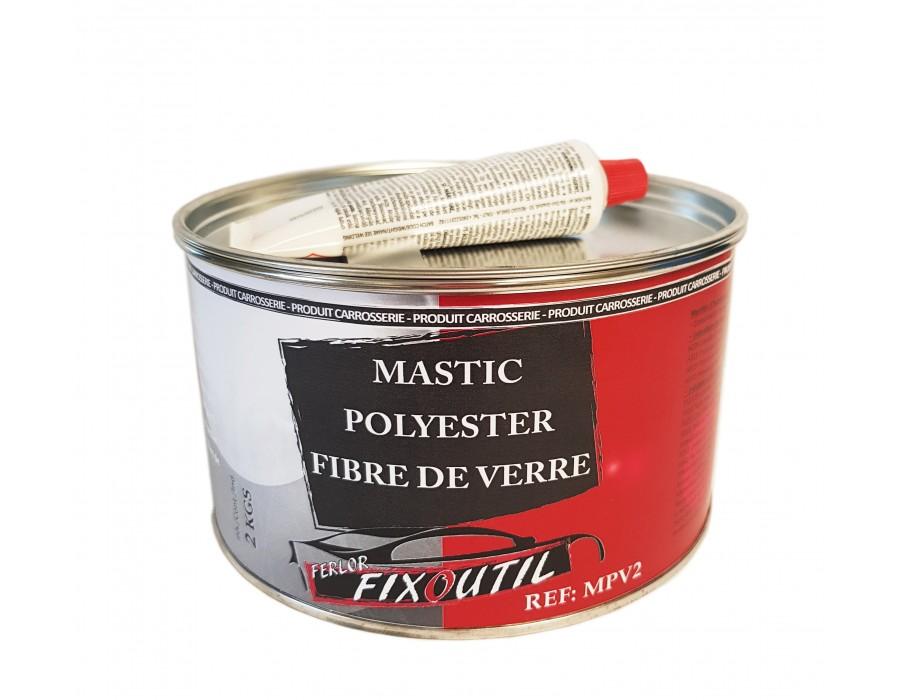 Mastic fibre de verre 1.5kg