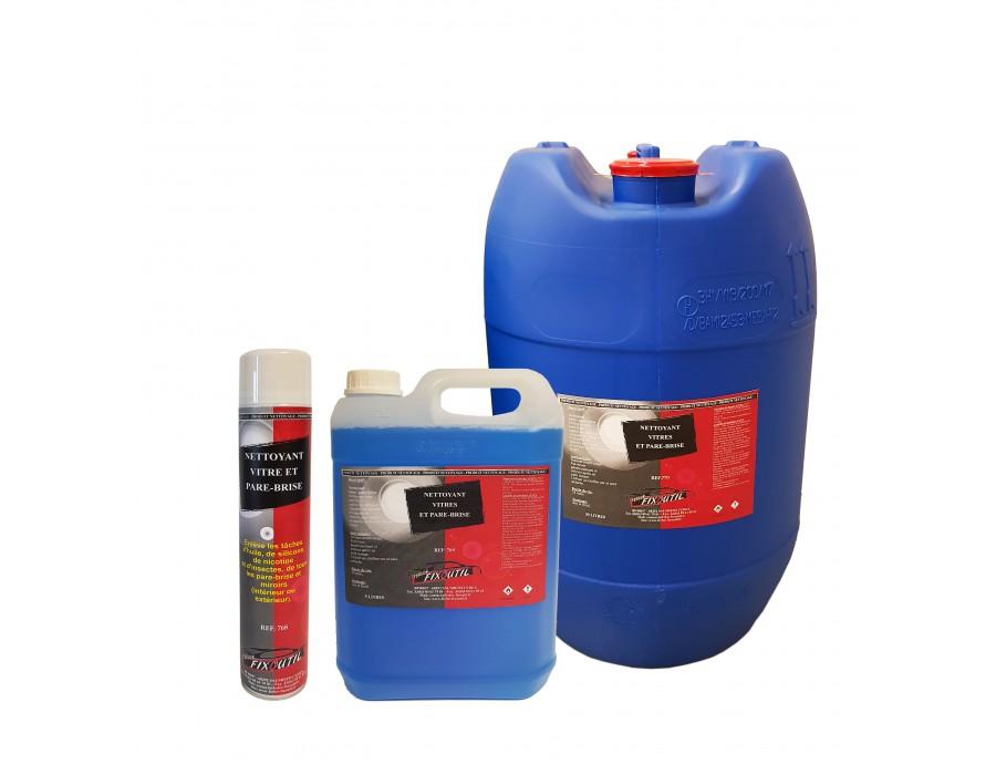 Nettoyant vitre 750 ml, 5 Litres ou 30 Litres