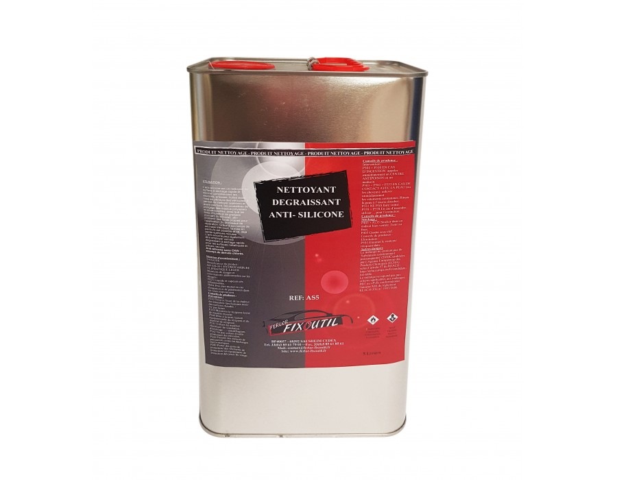 Nettoyant dégraissant anti silicone - 5 Litres