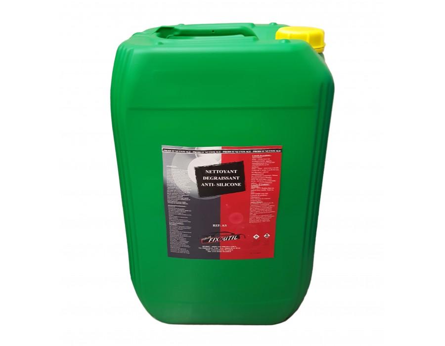 Nettoyant dégraissant anti silicone - 25 Litres