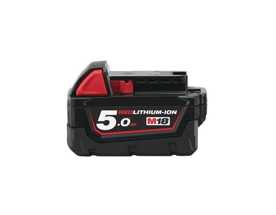 Batterie 5.0Ah pour pistolet MILWAUKEE 18V