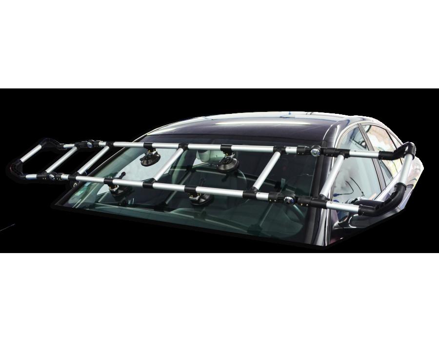Support alu spécial pour dépose et pose de toit panoramique et PB