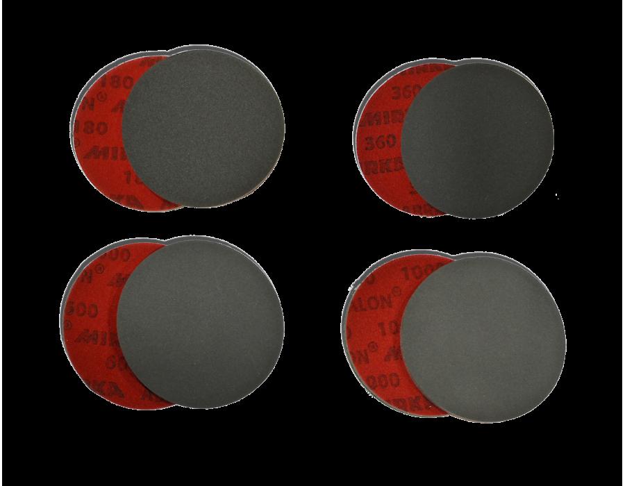 Disques mousses abrasifs Ø 77cm - Lot de 20